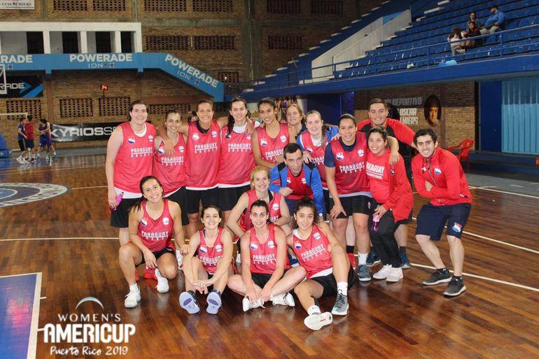 Selección paraguaya de basquetbol, Basquetbol, Americup.