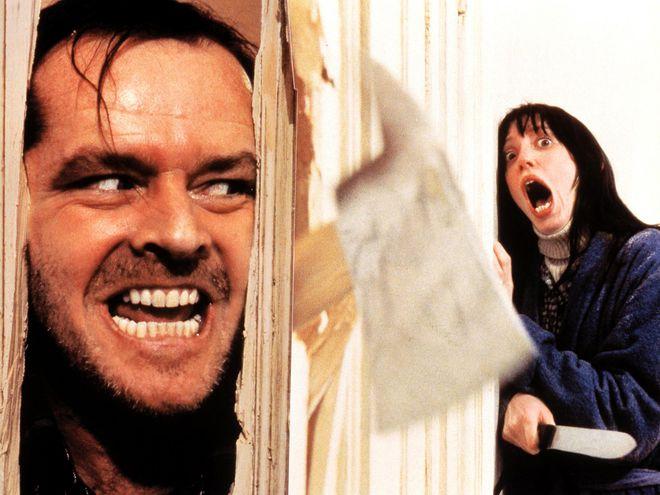 """Una de las escenas más emblemáticas de la película """"The Shining"""", de Stanley Kubrick."""