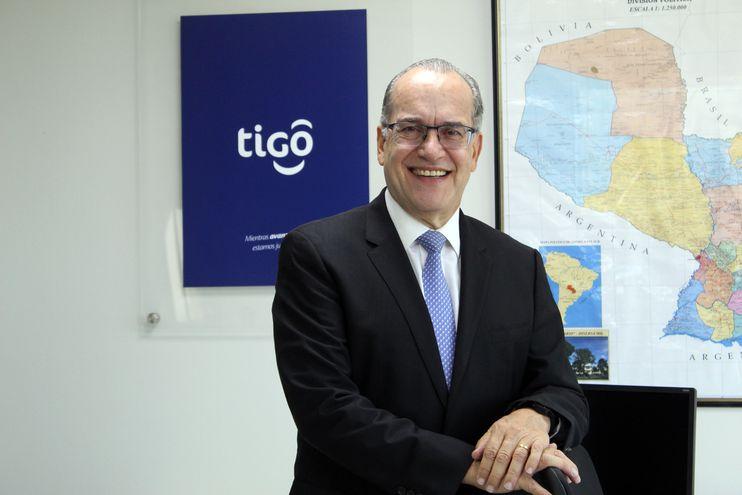 Carlos Blanco, director general de Tigo Paraguay.