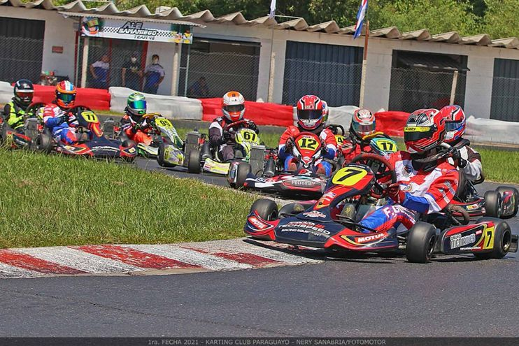 Fernando González se impuso en la categoría Rotax Senior Max.