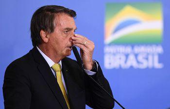 El presidente de Brasil, Jair Bolsonaro.  (AFP)