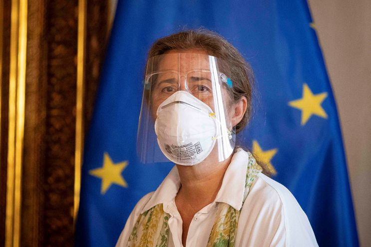 Isabel Brilhante, embajadora de la Unión Europea en Venezuela.