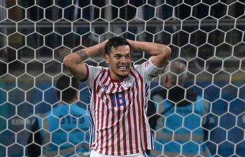 Gustavo Gómez, capitán de la selección paraguaya.