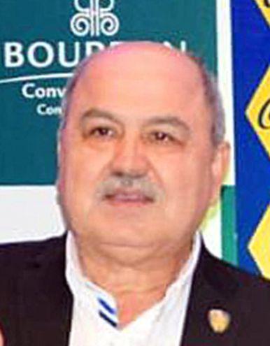 Celso Cáceres, actual presidente del Sportivo Luqueño. Era tesorero cuando se realizaron los millonarios movimientos.