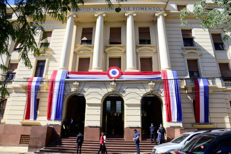 El Banco Nacional de Fomento (BNF) cuenta con 63 sucursales, según la presentación efectuada ante la Comisión Bicameral de Presupuesto.