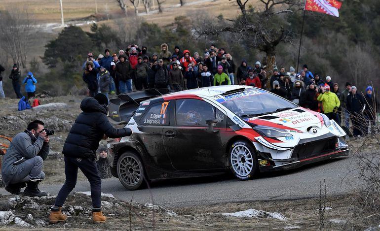 El francés Sebastien Ogier (Toyota) terminó ayer la segunda jornada del Rally de Montecarlo, primera cita del Mundial  (WRC) de 2020, en cabeza de la clasificación provisional.