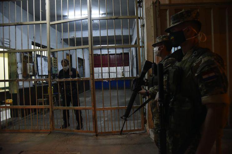 Acceso a la cárcel de Tacumbú. (Foto ilustrativa).