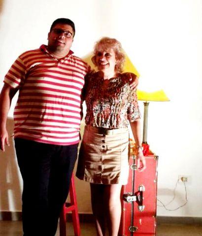 Juan Aveiro y Adriana Lanza forman parte de este espectáculo.
