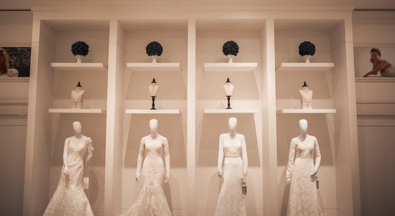 Las novias pueden elegir exclusivos diseños.