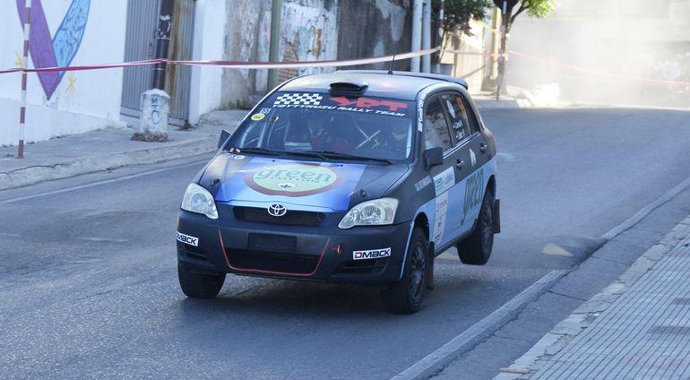 Jorge Cresta y Diego Benítez, tripulando un Toyota Allex, se adjudicaron la Clase RC3.