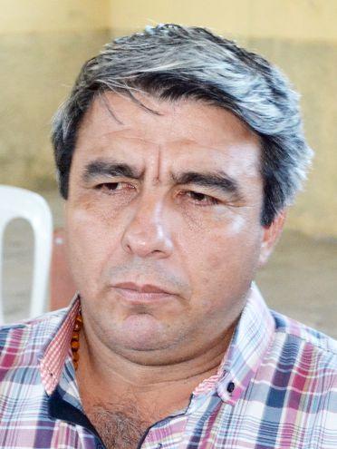 Rolando Arrúa (ANR, cartista), intendente de Paso de Patria. Opera con impunidad gracias a la protección de diputados.