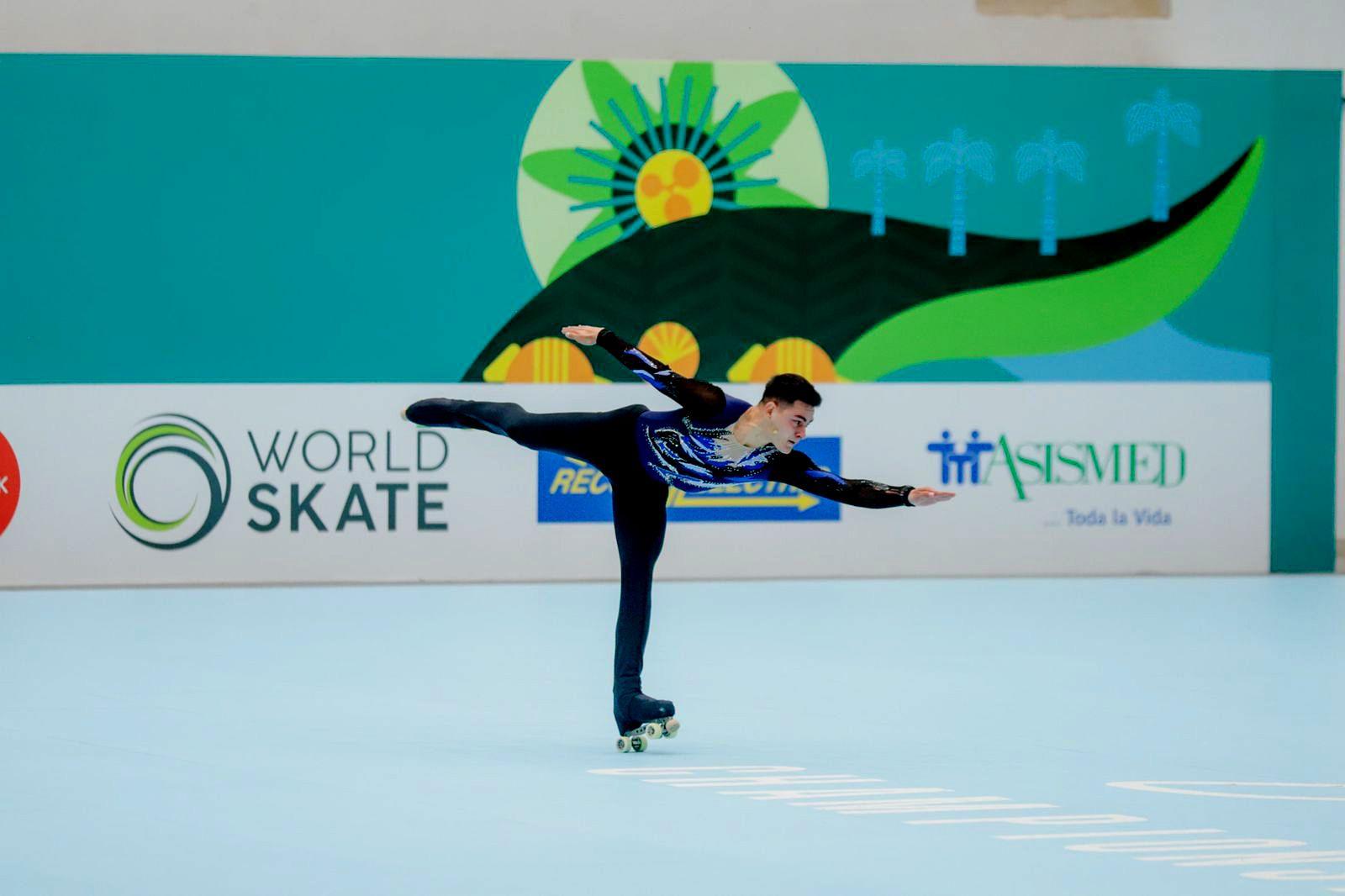 Víctor López finalizó ayer en el programa corto en el puesto nueve.