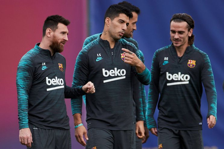 Barcelona y su tridente van por el liderazgo en la Champions,
