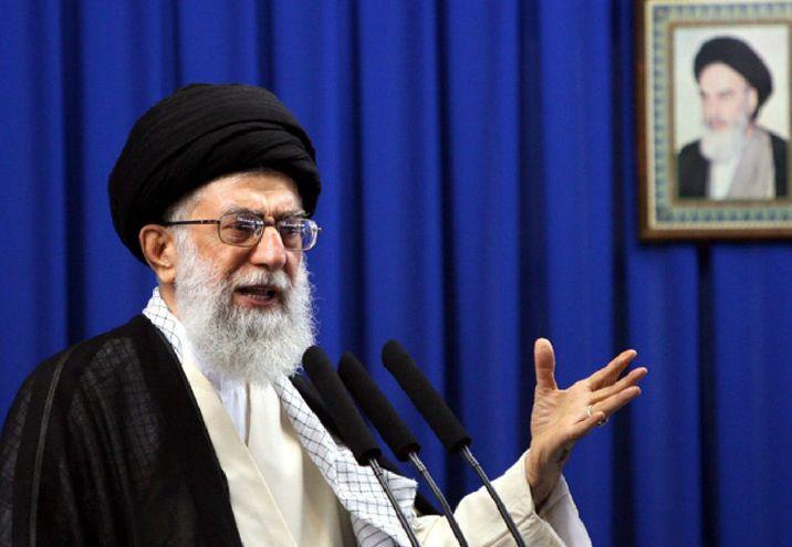 El ayatolá Alí Jamenei, líder religioso de Irán.