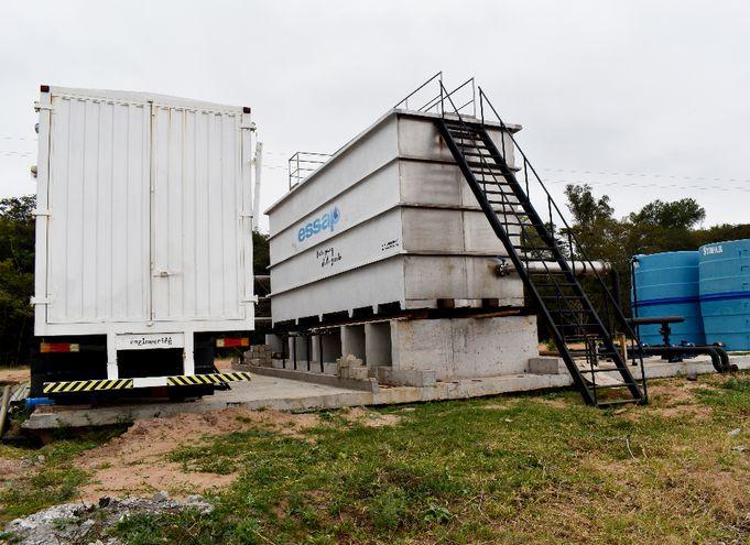 El canon municipal por el espacio en el cual se montará la planta de tratamiento móvil se redujo a G. 250 millones.