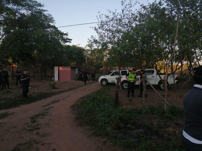 """Pobladores del asentamiento """"Canaán"""" de Luque fueron notificados para abandonar un inmueble ajeno"""