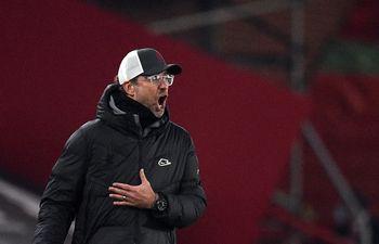 Klopp, entrenador del Liverpool.