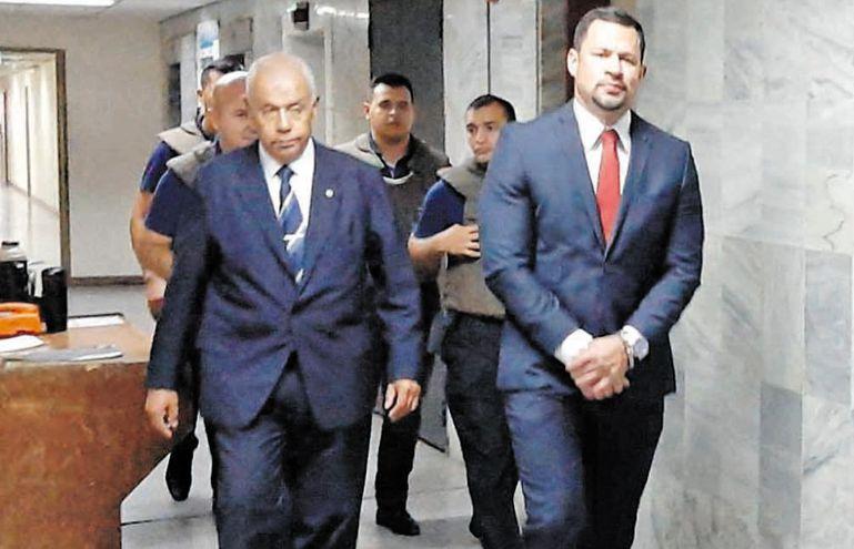 Diputado Ulises Quintana (ANR,  Colorado Añetete), preso en la cárcel de Viñas Cue en el proceso por supuesto lavado de dinero y asociación criminal, en el marco del Operativo Berilo.