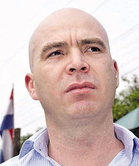 El intendente de Yaguarón, Luis Rodríguez, del Partido Liberal Radical Auténtico.