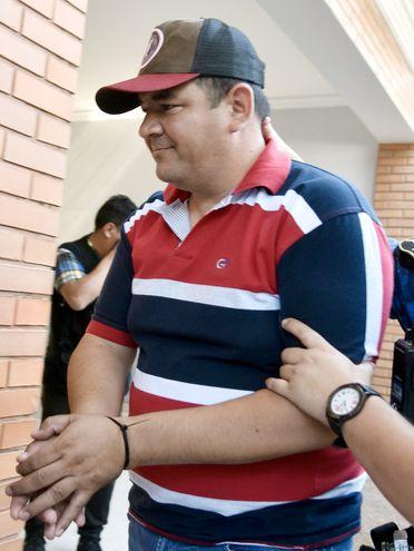 Subcomisario Emigdio Martínez, otro de los que abandonó la Agrupación Especializada.