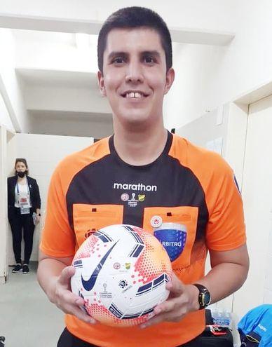 Hassam Zogaib tomó parte de la final de ayer.