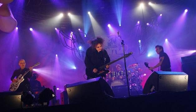 The Cure emocionó a sus fanáticos en ciudad de México.