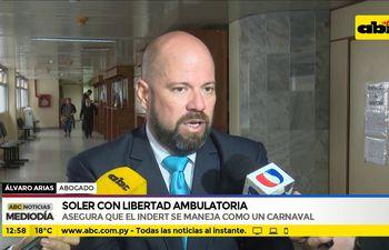 Soler, con libertad ambulatoria