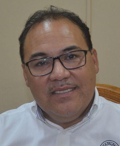 Hugo Fleitas (PLRA), gobernador del departamento de Cordillera denunciado por supuestas contrataciones ilegales.