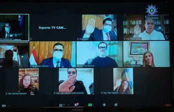 """Instalación de la Comisión de Control del Cumplimiento de la Ley """"Covid Gasto Cero""""."""