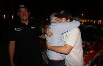 Marco Galanti (padre), Alejandro Galanti, Marco Galanti (hijo), Rally del Chaco.