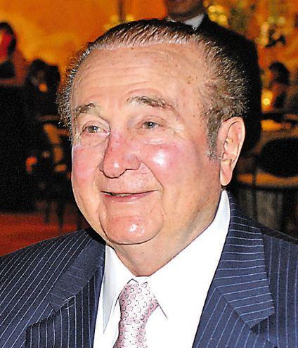 Nicolás Leoz Almirón, quien fue presidente de la Conmebol durante varias décadas y salpicado por el caso FIFAgate.