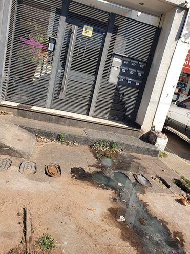 Residuos coacales en la calle