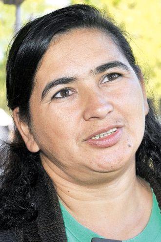 Teodolina Villalba, secretaria general de la FNC.