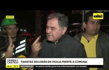 Taxistas protagonizaron disturbios