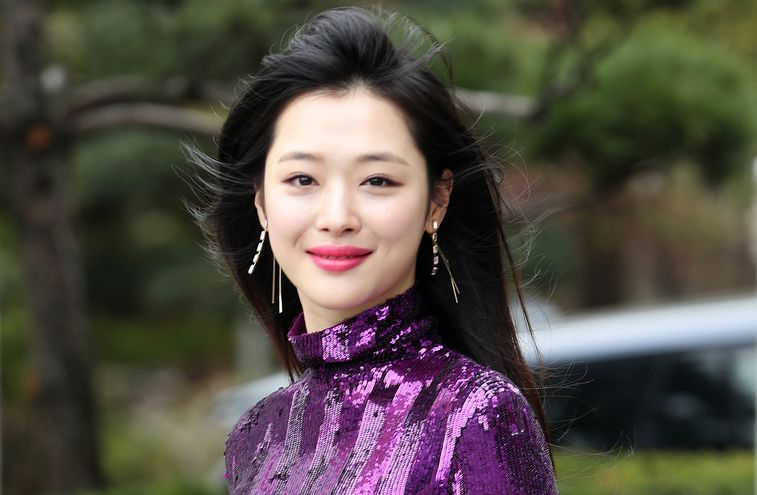 Sulli, cantante surcoreana.