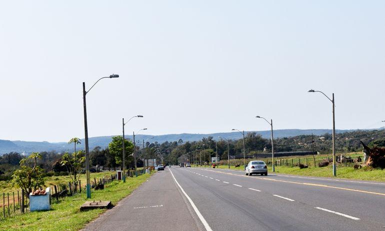 Ningún eucalipto queda en pie en el trayecto desde el Km. 48 hasta el Km. 49,8.