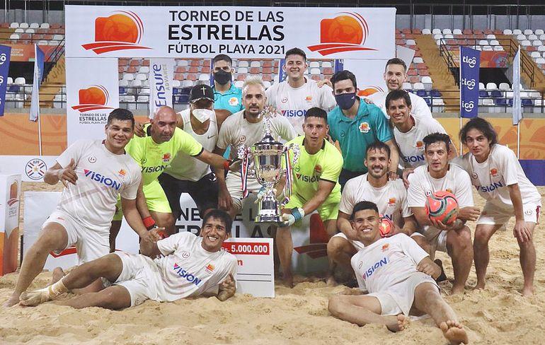 Helvéticos se quedó con el título y los premios al goleador y mejor arquero. Foto: APF
