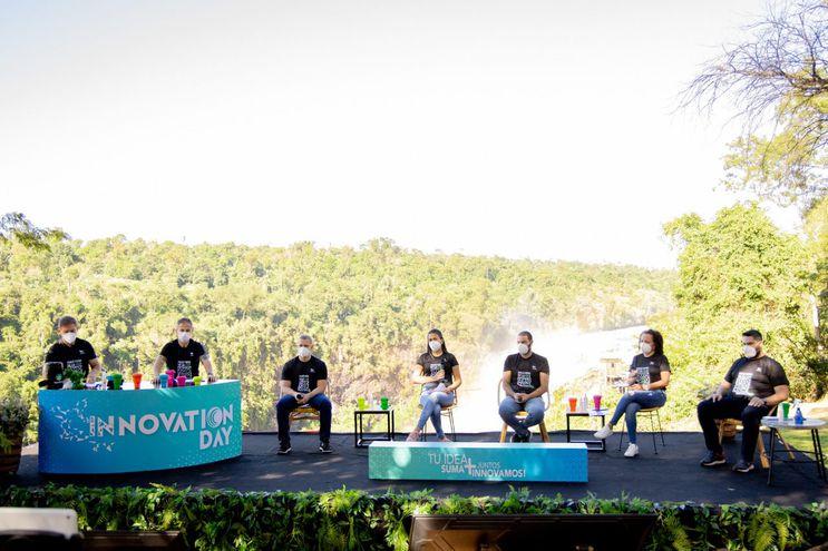 """La naturaleza fue el escenario principal del """"Innovation Day"""", realizado en Parque Aventura, en la ciudad de Presidente Franco."""