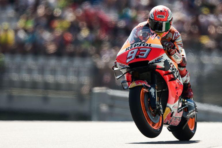 Marc Márquez conquistó la pole y partirá primero el domingo en el Gran Premio de Austria.