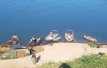Un total de nueve embarcaciones fueron incautadas durante el patrullaje del río Paraná.