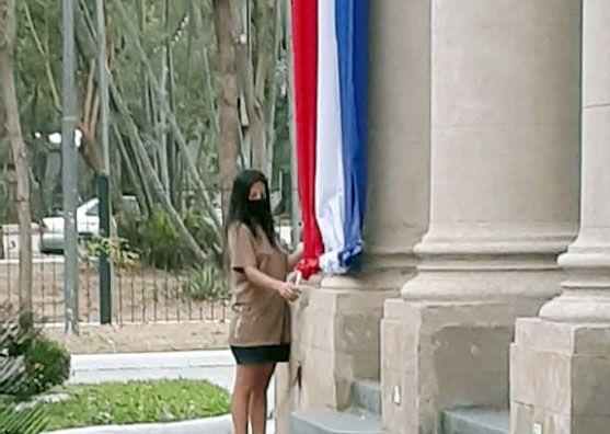 La bandera no se quema