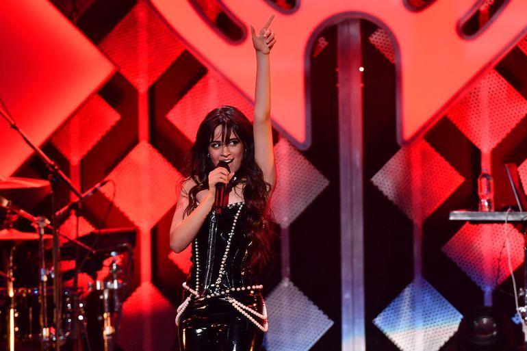 Camila Cabello durante un reciente show realizado en el Madison Square Garden, de New York.