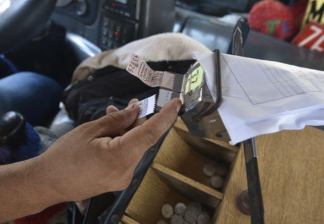 Los empresarios del transporte público reciben subsidio estatal por cada boleto vendido, como una compensación del precio del pasaje.