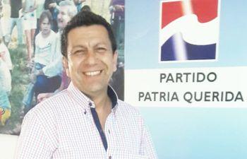 Miguel Villagra, candidato de Patria Querida a intendente de Ypacaraí.