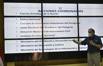 Para Joaquín Roa, ministro de la SEN, se deben actualizar ciertas normas ambientales que podrían frenar la ola de incendios.
