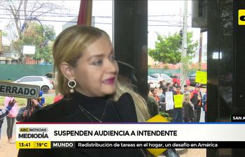 Suspenden audiencia a intendente de San Antonio