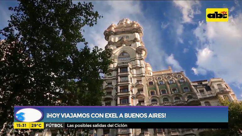 ¡Hoy viajamos con Exel Turismo a Buenos Aires!