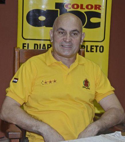 Capitán Rubén Valdez en ABC Color