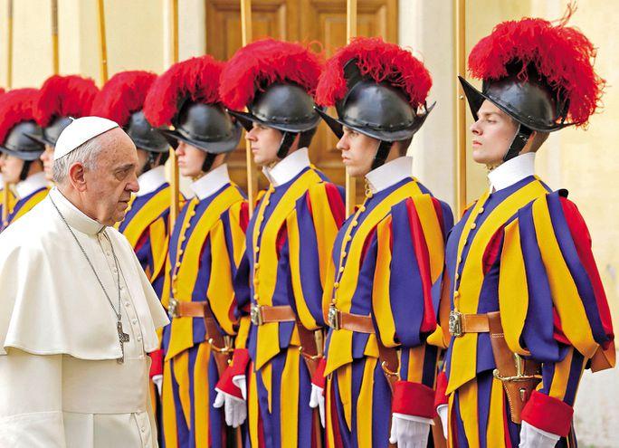 La guardia del Papa