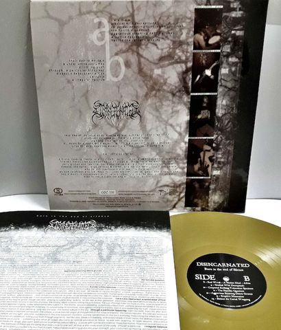 """El LP """"Born in The End of Silence"""", del grupo limpeño Disincarnated."""